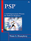 PSP(sm): A Self-Improvement Process for Software Engineers [Hardcover]